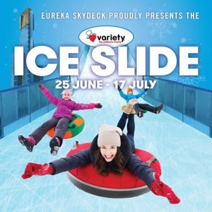 June 25 Ice Slide for Variety - Southbank Melbourne