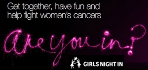 Do Girls Night In for Cancer Council Australia in October