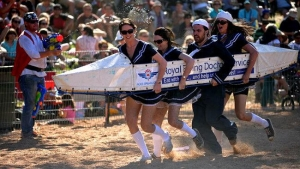 August 20 Rotary Henley-on-Todd Regatta At Alice Springs