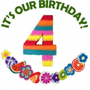 CharityDOs Celebrates its 4th Birthday !!